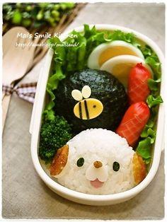 [Kuroneko chan rice ball] image of | Mai's Smile kitchen