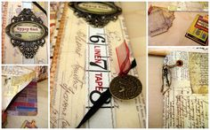 ~ Junk Journal, Journal Ideas, I Win, Altered Books, Projects To Try, Diy Crafts, Album, Crafty, My Love