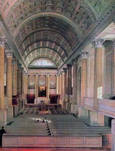 Ein Blick in den Schinkelschen Dom, von Eduard Gaertner, 1824. Von der…