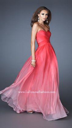 La Femme 17004   La Femme Fashion 2013 - La Femme Prom Dresses - Dancing with the Stars