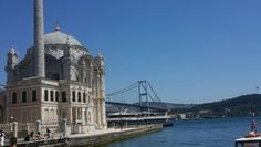 Istanbul Ortakoy Mosque. What a beautiful city!