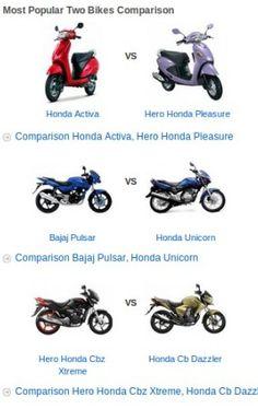 Compare Bikes by choosing upto 4 bikes for comparison. Compare Bike Prices cc90a1199