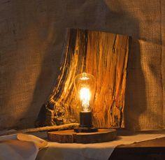 Cute Simple Wooden Lamp