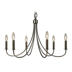 Maisonette 6-Light Candle-Style Chandelier