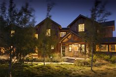 Out West Week: Shooting Star Cabin in Wyoming by Jane Schwab  / The English Room Blog