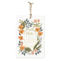 2017 Herb Garden Calendar