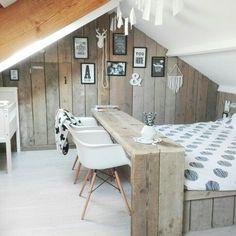 10 Serene Tips: Attic Bedroom Cottage attic apartment window. Attic Renovation, Attic Remodel, Trendy Bedroom, Cozy Bedroom, Bedroom Rustic, Bedroom Bed, Attic Bedrooms, Attic Design, Student Room