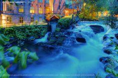 #Oslo #River #waterfall #Norway #Scandinavia