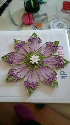 Quilled Flower: