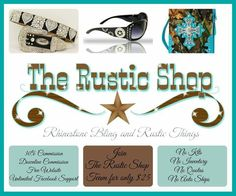 Earn money by starting your own Rustic Shop business for 10 dollars.  http://www.therusticshop.com/?store=westernsparkleshop