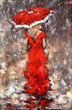 Alexander Gunin / oil, canvas, 60x40cm, 2015.