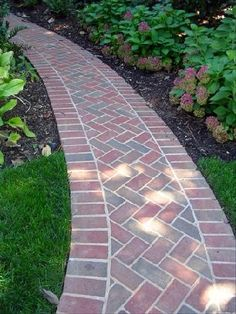 Pathway to herringbone happiness