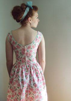 Back of sundress.