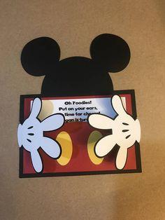 Invitaciones Mickey Mouse