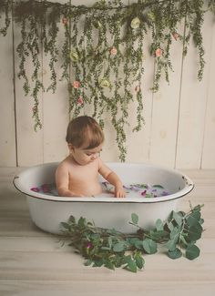 Ideas For Baby First Bath Newborns Cake Smash milkbathphot. - Ideas For Baby First Bath Newborns Cake Smash milkbathphotography - Milk Bath Photography, Baby Girl Photography, Feather Photography, Birth Photography, Milk Bath Photos, Bath Pictures, Baby Milk Bath, Boy Bath, Baby Shower Decorations For Boys
