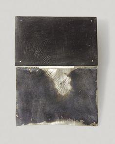 By Christine Matthias. 2005. Silver, niello, horn.