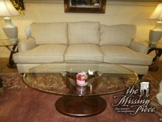 Get it while its here. Ballard custom three cushion Eton sofa in coco tweed camel fabric. This piece didn't go with there new place and is only one month old. Retails currently for $2,440.