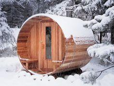 Barrel Sauna ... YES!!
