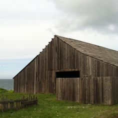 *Old barn at The Sea Ranch, CA| My in-laws lived in SR. Their daughter was married on a bluff overlooking the ocean, and the reception held here in the barn. Most unique and special wedding I can recall. #searanchisadream