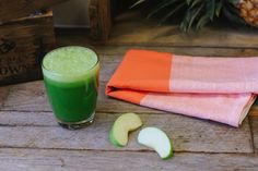 Reduce inflammation of the digestive system, and alkalize your body with this refreshing, cleansing juice! Packed with greens to detoxify, hydrate and nourish your cells. It's the perfect pick me up or healthy morning kickstart.