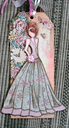 Prima Doll Tag- prom, dress