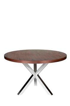 Remi Round Dining Table - Walnut