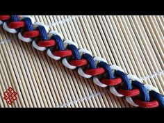 How To Make the Divided Solomon Paracord Bracelet Tutorial - YouTube