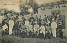 GREECE CRETE GENDARMERIE INTERNATIONALE A LA CANEE POLICE EARLY 1900 VIEW | eBay