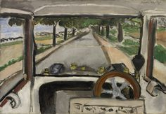 The Windshield - Henri Matisse My nr. 1 drawing of Matisse Post Impressionism, Impressionism, Abstract Artists, Fauvist, Cleveland Museum Of Art, Picasso Paintings, Painting, Henri Matisse, Art History