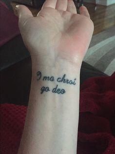 Irish tattoos, celtic tattoos, new tattoos, small tattoos, body art tattoos Girly Tattoos, Tribal Tattoos, Tattoos Skull, Body Art Tattoos, Cool Tattoos, Flag Tattoos, Wrist Tattoos, Small Tattoos With Meaning, Small Tattoos For Guys