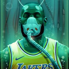 """LeBron James on Instagram: """"Almost time to come out the Cryogenic Tank and get back to destroying whoever in front of me. Be Aware! #RevengeSeasonContinuesSoon😤…"""" Lebron James Lakers, King James, Joker, Fictional Characters, Basketball, Fitness, Sports, Instagram, Hs Sports"""