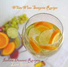 White Sangria Recipe - Easy Tasty and Cheap!