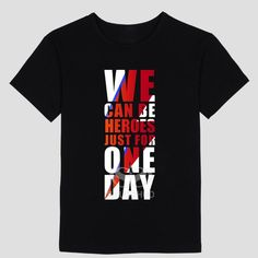 David Bowie T-Shirt - We Can Be Heroes