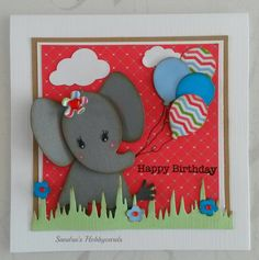 Sandra's Hobbycards: Happy Birthday