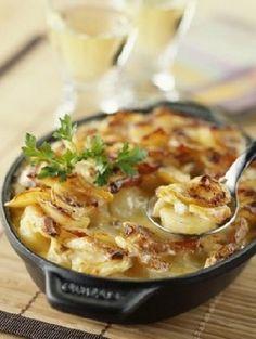 Gratin dauphinois - recette gratin , recette entree : recettes de cuisine francaise à base de legumes, recette facile