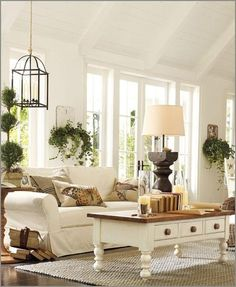 inspiration for the new living room! Coffee table makeover