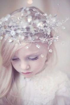 Cute winter wedding flower girl style