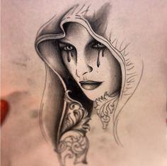 Creepy face Creepy Tattoos, Face Tattoos, Creepy Faces, Face Art, Simply Beautiful, Tattoo Inspiration, Photos, Ideas, Tattoo Designs