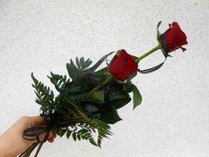 smuteční kytice 2 květy