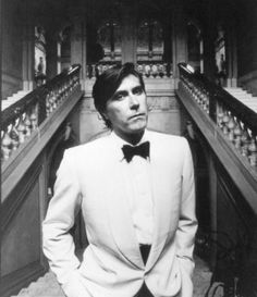 Bryan Ferry wearing Antony Price, 1980s