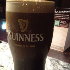 Ahhh pint of Guinness