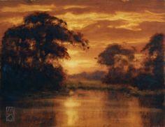 Copper Dawn by Michael Orwick  Oil on Panel  11 x 14  www.michaelorwick.com