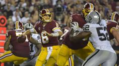 NFL Week 3: Redskins 27 Raiders 10
