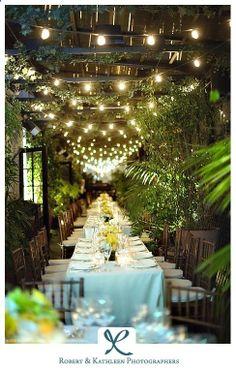 My Dream Outdoor Dinner Party Emily Braithwaite Secret Garden Wedding Theme