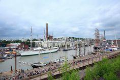 Tall ships, Tall Ships Race 2009 Turku - Klaipeda, Port of Turku, Finland