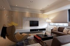 rezt and relax interior tv console design - Google Search