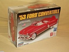 Ford 1953 Lindberg Convertible Model Car Kit New 72195 2006 1:25 Scale Sealed #Lindberg