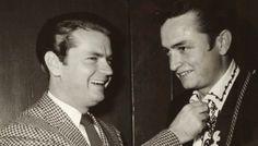 Johnny Cash with Sam