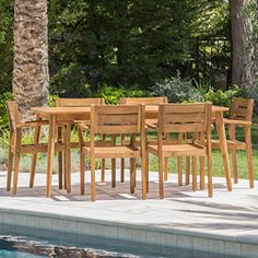 "These acacia wood dining chairs are a great addition for any dining set or as standalone chairs. Made with weather treated acacia wood to make it ideal for an outdoor environment, these chairs are both comfortable and functional. Add to an existing set or start a brand new collection, these chairs can be mixed and matched to any set you have or are looking at. Includes: Two (2) Dining Chairs Dimensions: 22.75""D x 22.75""W x 33.25""H"