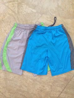 402d851c71b56 Youth Large Blue And Gray Bcg Shorts And Green And Gray Bcg Shorts All In  One